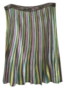 M Missoni Pull On Skirt Multi