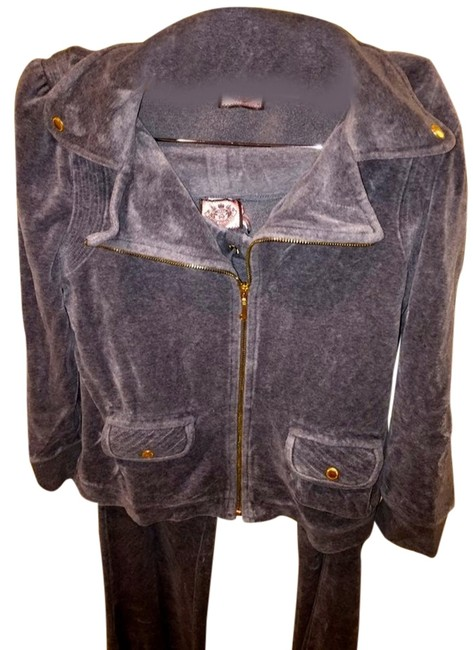 Preload https://item4.tradesy.com/images/juicy-couture-gray-jacket-3146398-0-0.jpg?width=400&height=650