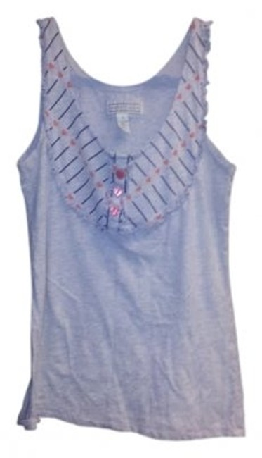 Preload https://item4.tradesy.com/images/heritage-1981-gray-with-heart-buttons-sma-tank-topcami-size-4-s-31468-0-0.jpg?width=400&height=650