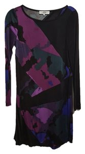 Tibi Shift Jewel Tone Dress