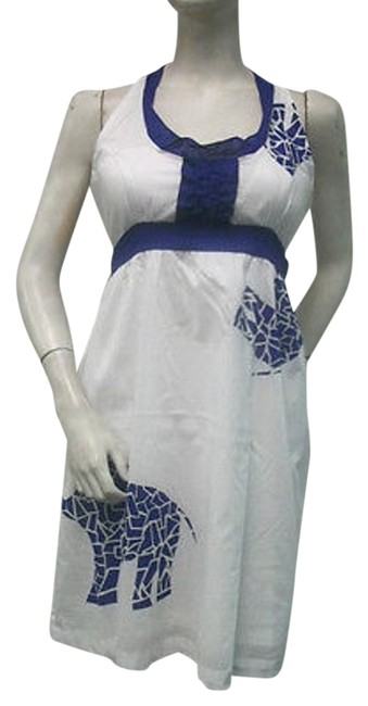 Preload https://item5.tradesy.com/images/tracy-negoshian-royal-blue-white-100-cotton-emma-dress-mini-racer-back-3147979-0-1.jpg?width=400&height=650
