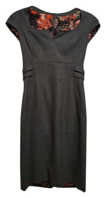 Ted Baker Silver Hardware Lining Sexy Dress