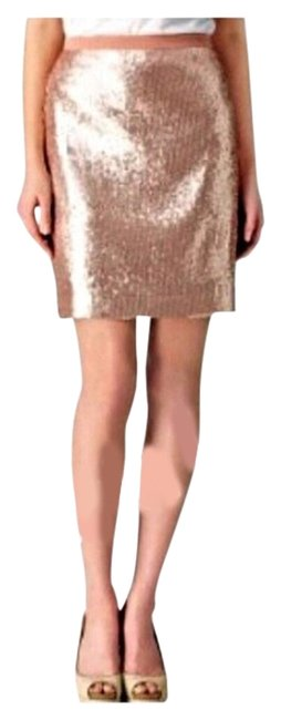 Item - Rose Gold Sequin New with Tags Skirt Size 2 (XS, 26)