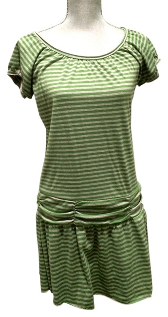 Preload https://item3.tradesy.com/images/mossimo-supply-co-green-and-gray-above-knee-short-casual-dress-size-8-m-3149377-0-0.jpg?width=400&height=650