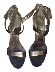 Enzo Angiolini Dark Gold Wedges