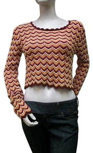 MINKPINK Zig Zag Stripe Style Mp3582i Cotton Sweater