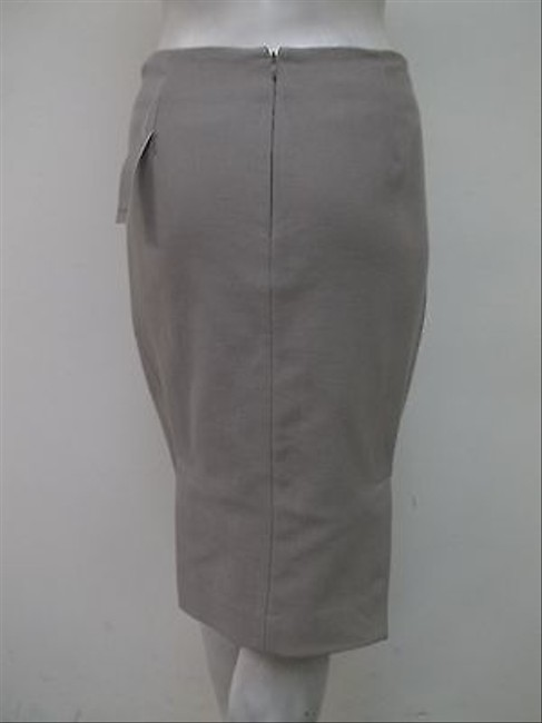 Premise Angelica Langdon 100 Cotton Lined 702p4301 Skirt Pewter