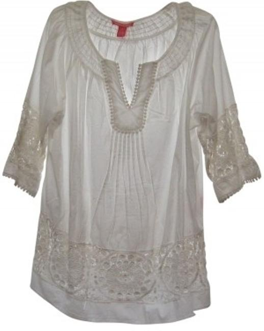 Preload https://item1.tradesy.com/images/woman-within-white-peasant-blouse-34-length-tunic-size-20-plus-1x-31510-0-0.jpg?width=400&height=650