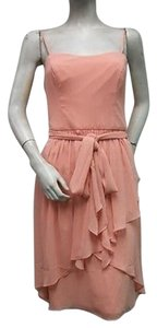 Watters short dress Peach Spaghetti Strap Angle Layered 3532 on Tradesy