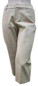 A Woman Khaki Cropped Revival Capri/Cropped Pants Beige