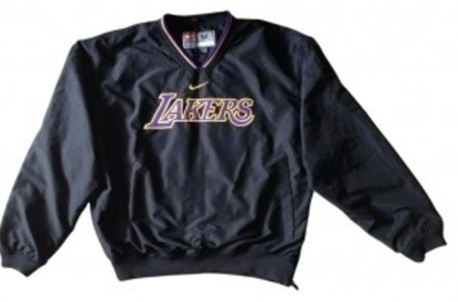 Preload https://item2.tradesy.com/images/nike-black-laker-polyester-cotton-lined-jacket-with-poc-activewear-size-8-m-31521-0-0.jpg?width=400&height=650