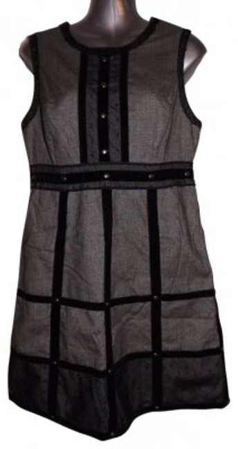 Preload https://item1.tradesy.com/images/anna-sui-gray-and-black-for-target-velvet-above-knee-short-casual-dress-size-10-m-31525-0-0.jpg?width=400&height=650