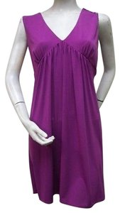 Laundry by Shelli Segal short dress Purple Sleeveless on Tradesy