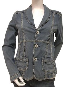 Christopher Blue Sand Washed Womens Jean Jacket