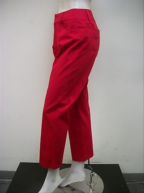 Other A Woman Pamela Dress Capris Style Blend Usa Capri/Cropped Pants Red