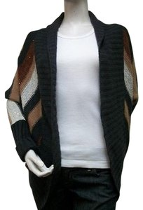 BB Dakota Bb Striped Arkison Wool Cardigan Style Bc46381 Sweater