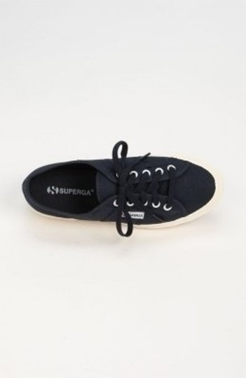 Superga Cotu Classic Canvas Sneaker Sneaker Tennis Canvas Navy Athletic