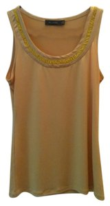 The Limited Sleeveless Top yellow/gold