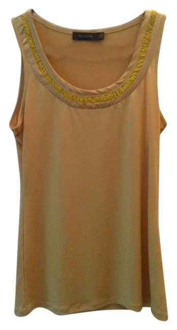 The Limited Sleeveless Scoop Neck Top yellow/gold
