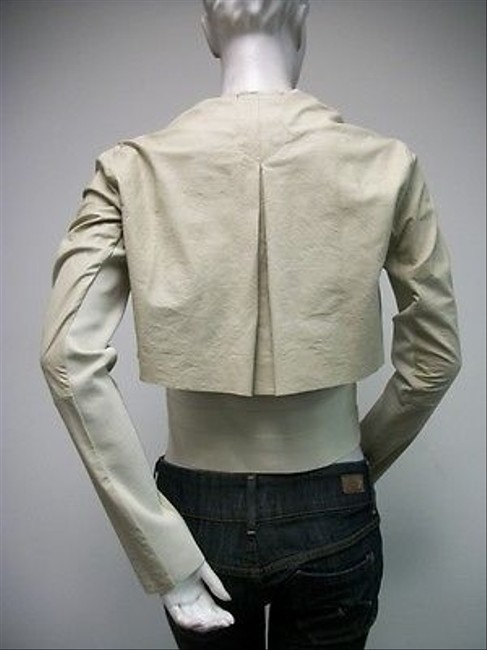 Other Shes So Style 7091b Made In Italy Beige Jacket
