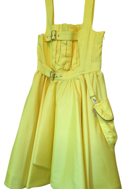Preload https://item4.tradesy.com/images/marc-by-marc-jacobs-dress-lucid-yellow-3156103-0-0.jpg?width=400&height=650