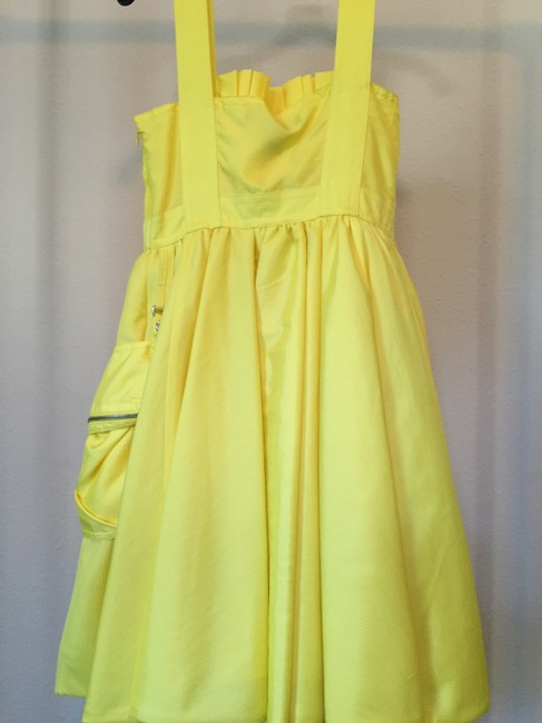 Marc by Marc Jacobs short dress Lucid Yellow on Tradesy