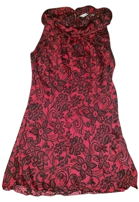 Signature by Larry Levine Silky Sleeveless Top Red