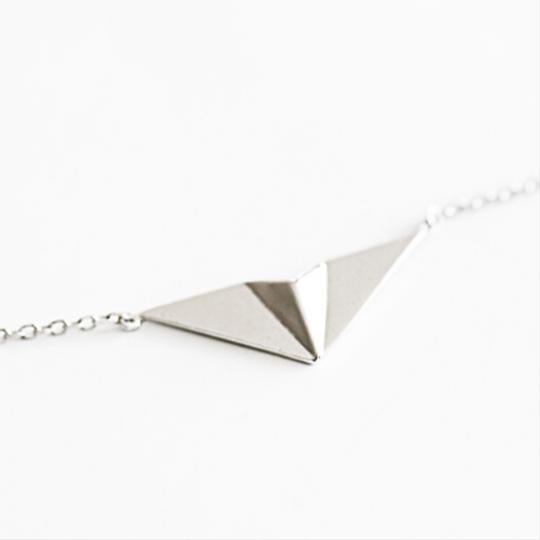Other Take Flight Paper Airplane Necklace