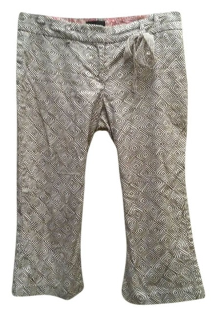 The Limited Print Capris brown