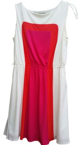Sandra Darren Color Block Dress