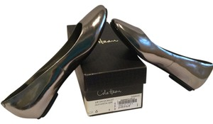 Cole Haan Gunmetal leather leather lining NikeAir with box new Flats