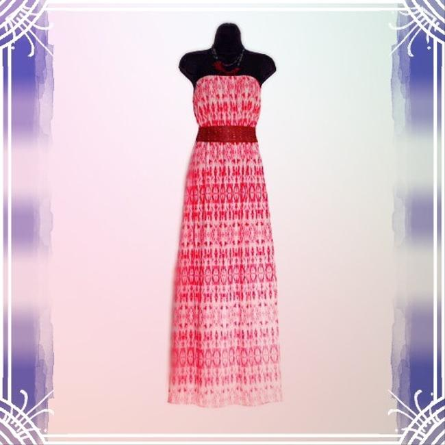 Red Maxi Dress by Guliana