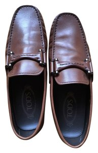 Tod's Tods Mens Leather brown Flats