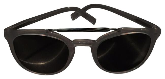 Item - Clear Round Shades Sunglasses