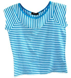 Ideology Striped T Shirt blue-white