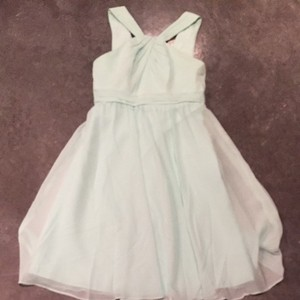 David's Bridal Mint Green Dress