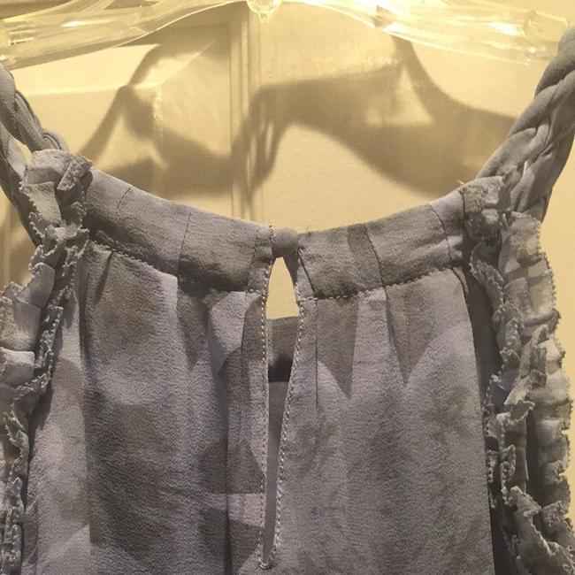 Banana Republic Top Light Blue And Gray