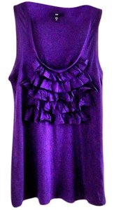 Gap Embellished Cotton Modal Top purple