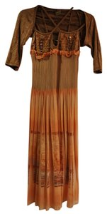 Multicolor Maxi Dress by Save The Queen