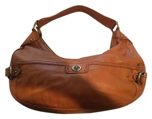 Marc Jacobs Leather Great Color Versatile Hobo Bag