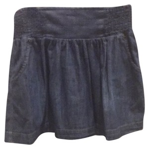Lucky Brand Skirt Denim Blue