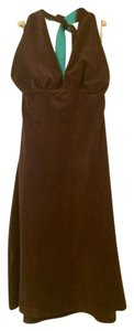 Tommy Bahama short dress Brown and Aqua Terry Cloth on Tradesy