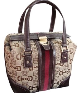 Gucci Treasures Satchel in Brown