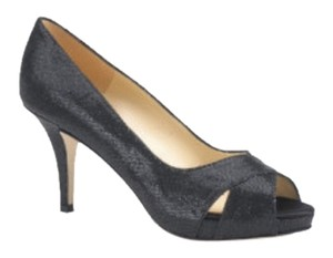 Kate Spade Billie Starlight Pumps Glitter Black Glitter Formal