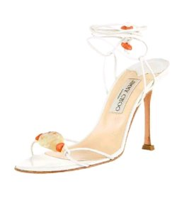 Jimmy Choo Flower Pump white Sandals