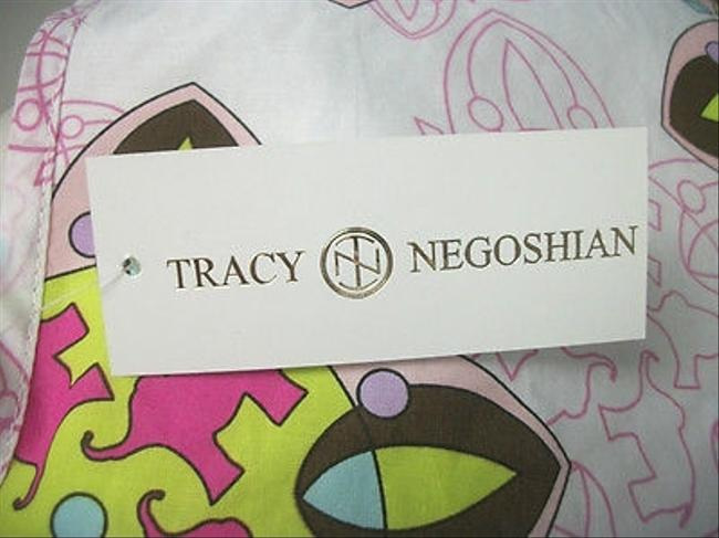 Tracy Negoshian short dress Multi-Color Pink Elephant Print Megan Mini on Tradesy