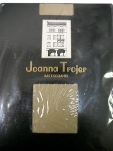 Joanna Trojer Bella Body Shaper French Cut Denier Miele Nylon Pantyhose