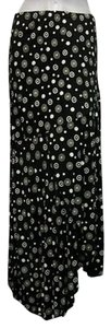 Other Compliments Cream Dot Print Style Skirt Black