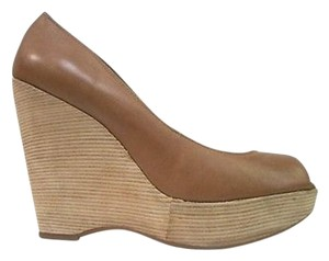 Splendid Layla Carmel Textile Brown Platforms