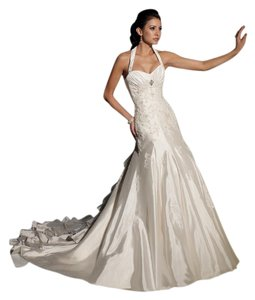 Sophia Tolli Ruffled Lace A-line Fitted Wedding Dress